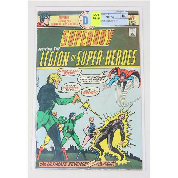 DC COMICS SUPERBOY #211