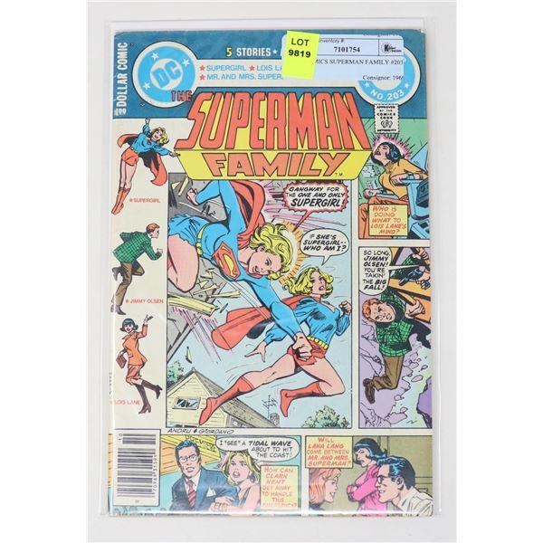 DC COMICS SUPERMAN FAMILY #203