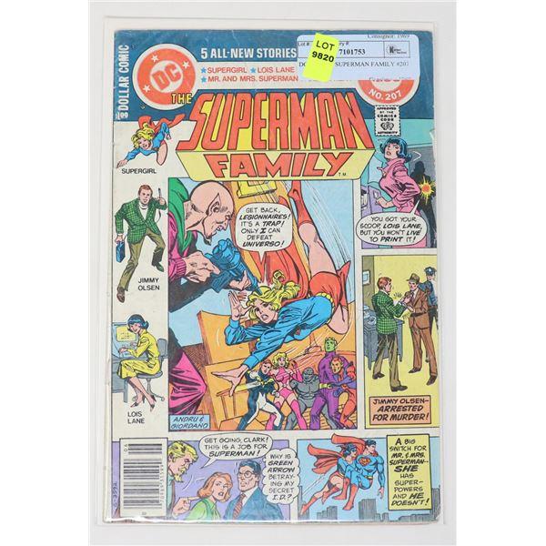 DC COMICS SUPERMAN FAMILY #207