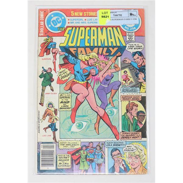 DC COMICS SUPERMAN FAMILY #206