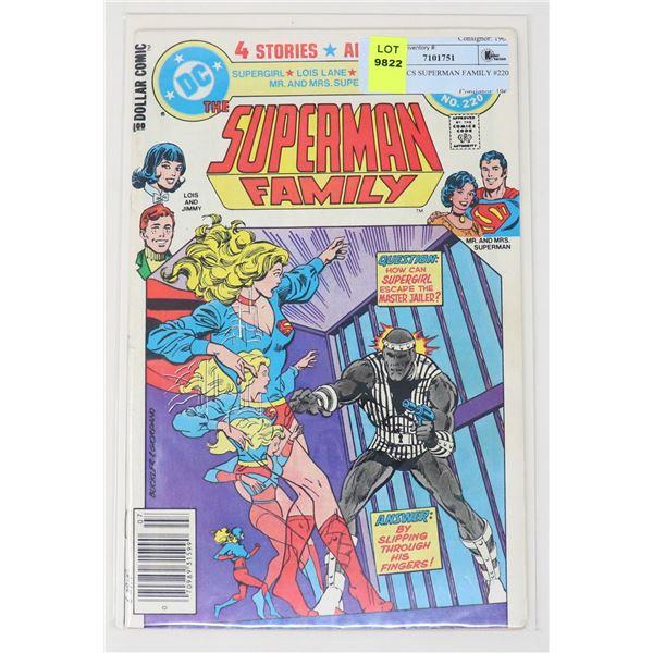 DC COMICS SUPERMAN FAMILY #220