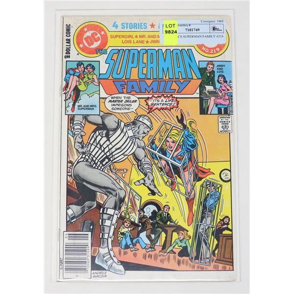 DC COMICS SUPERMAN FAMILY #219