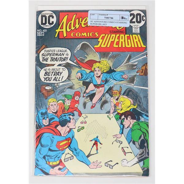 DC ADVENTURE COMICS STARRING SUPERGIRL #423