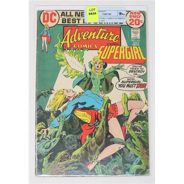 DC ADVENTURE COMICS STARRING SUPERGIRL #421