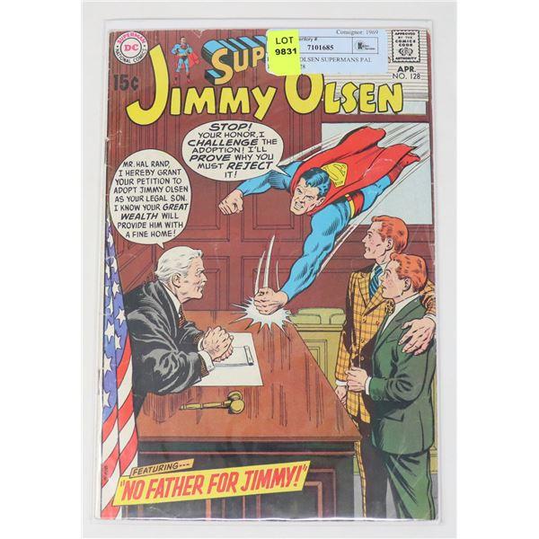 DC JIMMY OLSEN SUPERMANS PAL 15 CENT #128