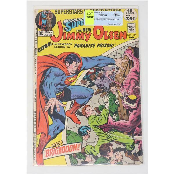 DC JIMMY OLSON SUPERMANS PAL #145