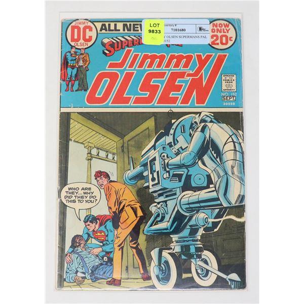 DC JIMMY OLSEN SUPERMANS PAL 20 CENT #152