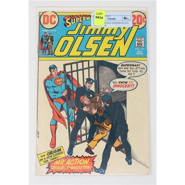 DC JIMMY OLSEN SUPERMANS PAL 20 CENT #155