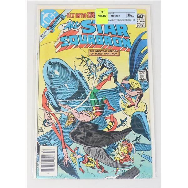 DC COMICS ALL-STAR SQUADRON #2