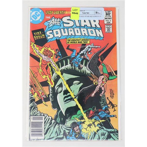 DC COMICS ALL-STAR SQUADRON #5
