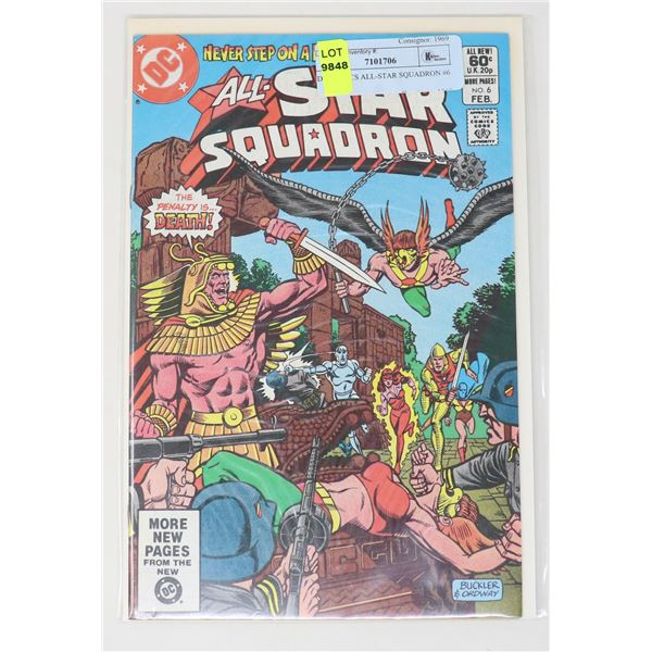 DC COMICS ALL-STAR SQUADRON #6