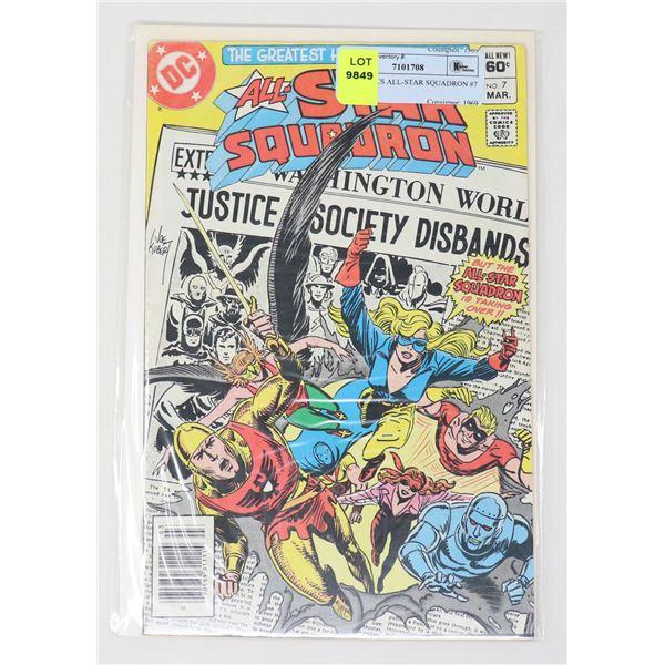 DC COMICS ALL-STAR SQUADRON #7