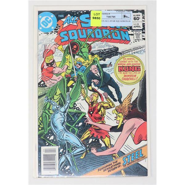 DC COMICS ALL-STAR SQUADRON #8