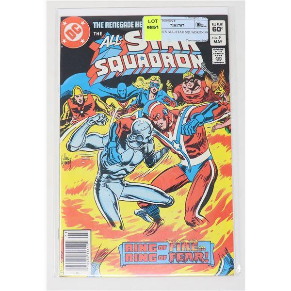 DC COMICS ALL-STAR SQUADRON #9