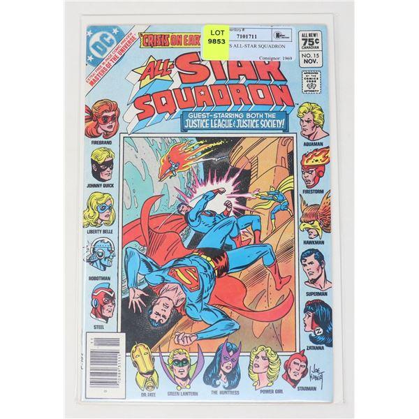 DC COMICS ALL-STAR SQUADRON #15