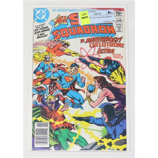 DC COMICS ALL-STAR SQUADRON #22