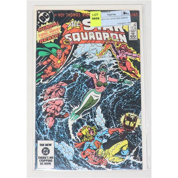 DC COMICS ALL-STAR SQUADRON #34