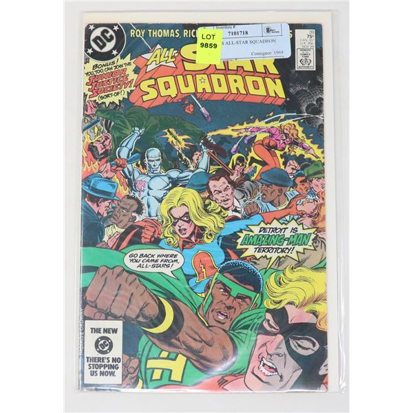 DC COMICS ALL-STAR SQUADRON #39