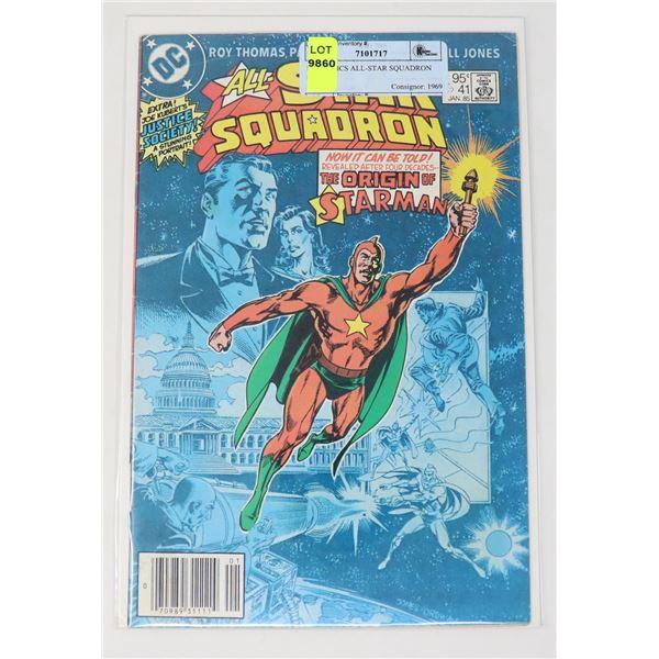 DC COMICS ALL-STAR SQUADRON #41