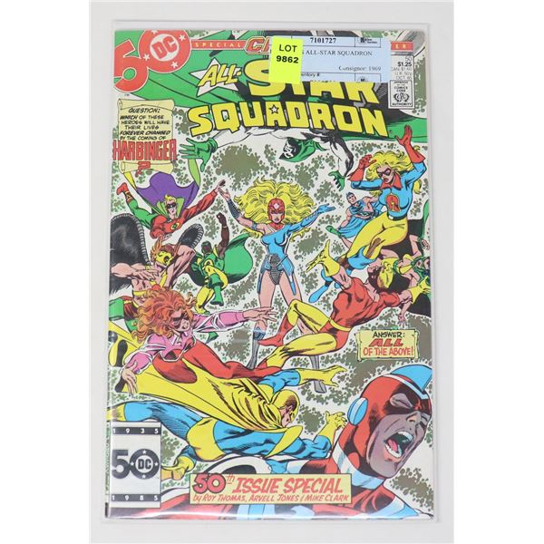 DC COMICS ALL-STAR SQUADRON #50