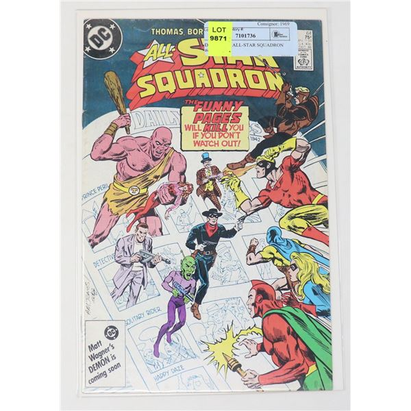DC COMICS ALL-STAR SQUADRON #64