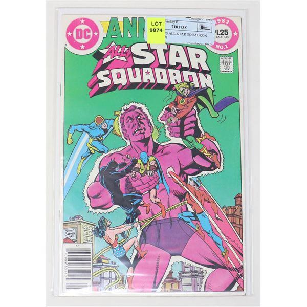 DC COMICS ALL-STAR SQUADRON ANNUAL #1