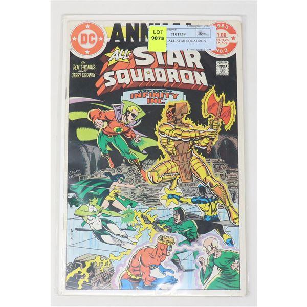 DC COMICS ALL-STAR SQUADRON ANNUAL #2