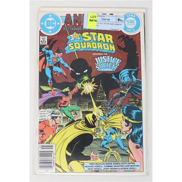 DC COMICS ALL-STAR SQUADRON ANNUAL #3
