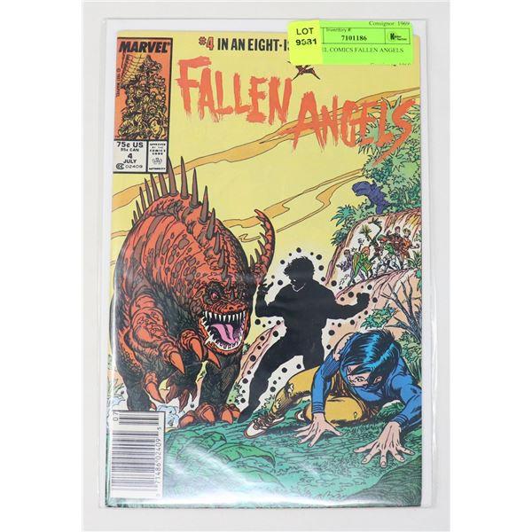 MARVEL COMICS FALLEN ANGELS #4