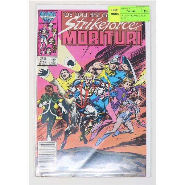 MARVEL COMICS STRIKEFORCE MORITURI #3