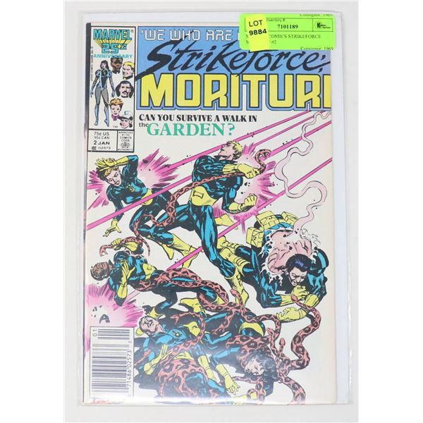 MARVEL COMICS STRIKEFORCE MORITURI #2