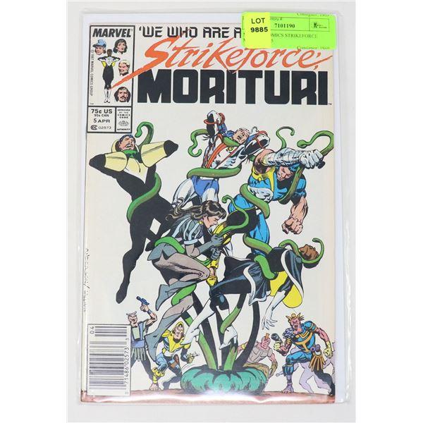 MARVEL COMICS STRIKEFORCE MORITURI #5