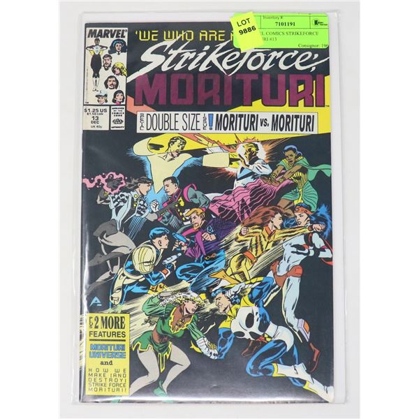 MARVEL COMICS STRIKEFORCE MORITURI #13