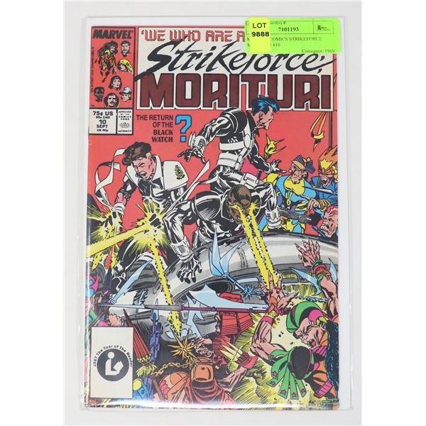 MARVEL COMICS STRIKEFORCE MORITURI #10