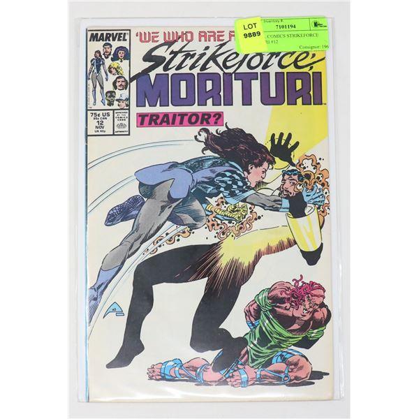 MARVEL COMICS STRIKEFORCE MORITURI #12