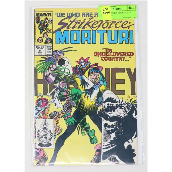 MARVEL COMICS STRIKEFORCE MORITURI #9