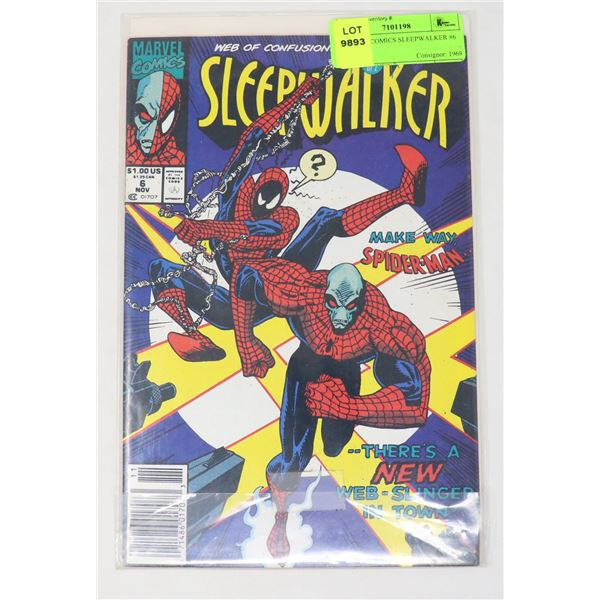 MARVEL COMICS SLEEPWALKER #6