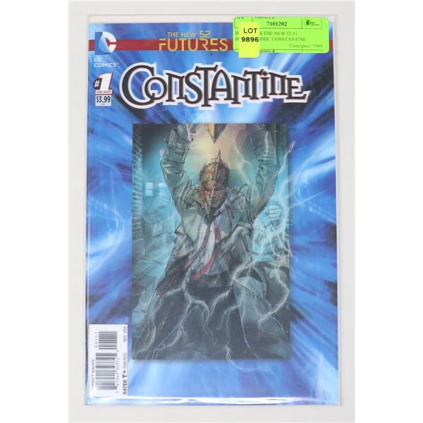 DC COMICS THE NEW 52 #1 HOLOGRAPHIC CONSTANTINE