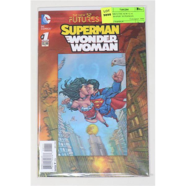 DC COMICS THE NEW 52 #1 HOLOGRAPHIC SUPERMAN