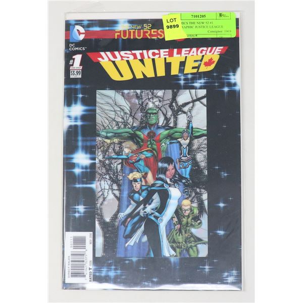 DC COMICS THE NEW 52 #1 HOLOGRAPHIC JUSTICE LEAGUE