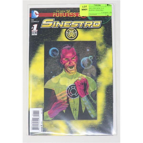 DC COMICS THE NEW 52 #1 HOLOGRAPHIC SINESTRO