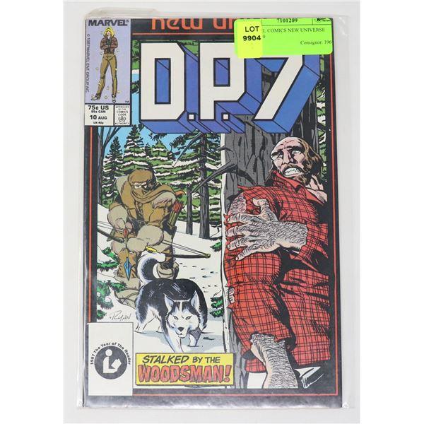 MARVEL COMICS NEW UNIVERSE D.P.7 #10