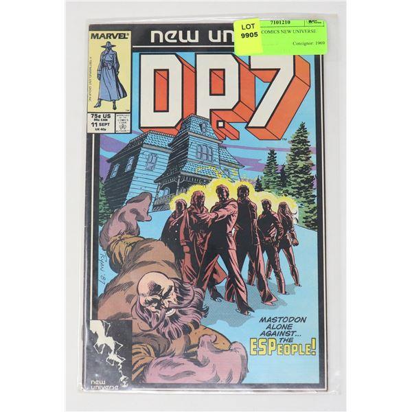 MARVEL COMICS NEW UNIVERSE D.P.7 #11