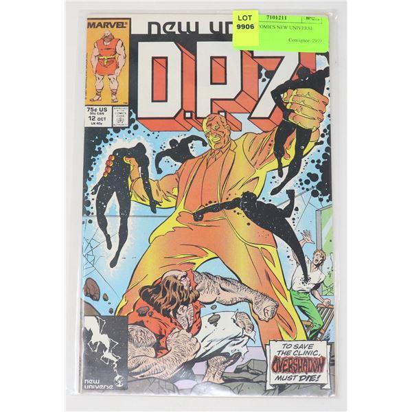 MARVEL COMICS NEW UNIVERSE D.P.7 #12