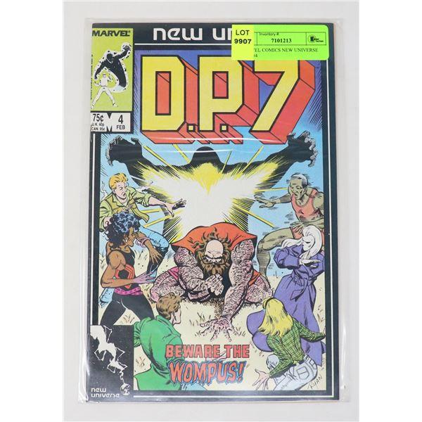 MARVEL COMICS NEW UNIVERSE D.P.7 #4