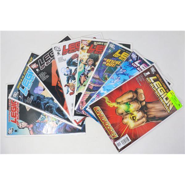 DC LEGION OF SUPER-HEROES #1-8