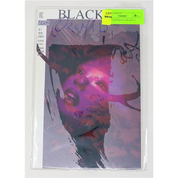 DC VERTIGO BLACK ORCHID #1