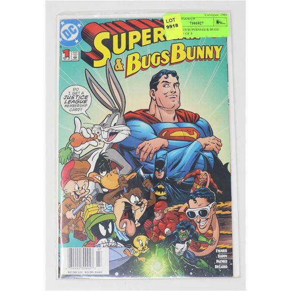 DC COMICS SUPERMAN & BUGS BUNNY #1 OF 4