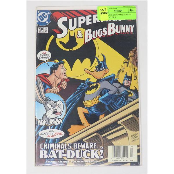 DC COMICS SUPERMAN & BUGS BUNNY #3 OF 4