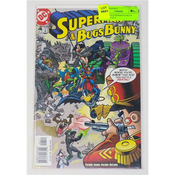 DC COMICS SUPERMAN & BUGS BUNNY #4 OF 4